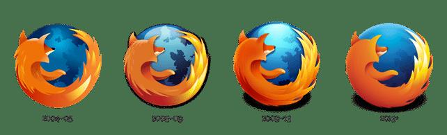 firefox-logo-history