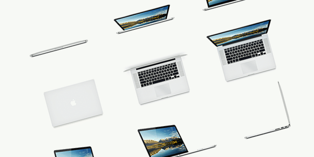 MacBook Pro – 15 scalable mockups
