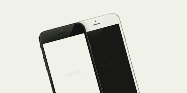 iPhone 6 – high quality mockups