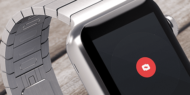 Apple Watch realistic mockup