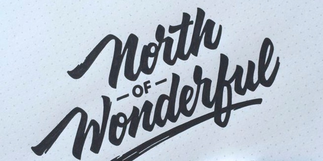 12 creative hand lettering design works