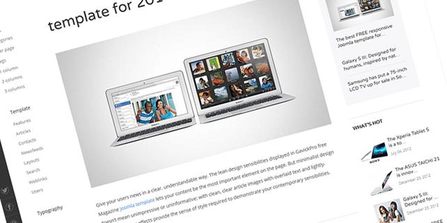 Magazine portal WordPress theme