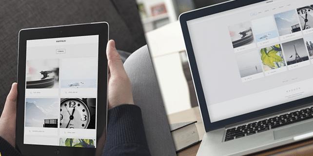 Portfolio – lightweight WordPress theme