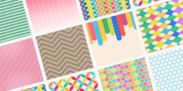 10 vector pattern backgrounds