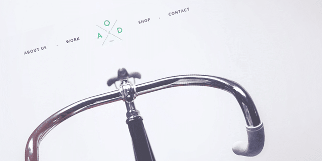 Bicycle – flat PSD template