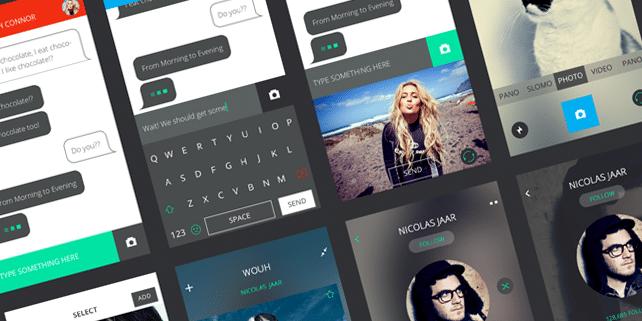 Gravity – mobile UI pack