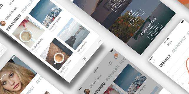 Metro style iOS app template