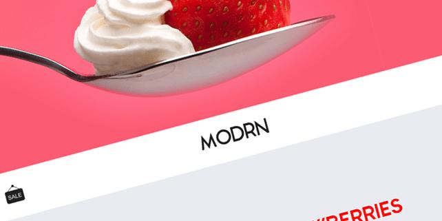 modrn-free-psd-template