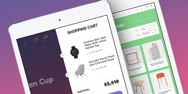 Arvi – neat eCommerce template
