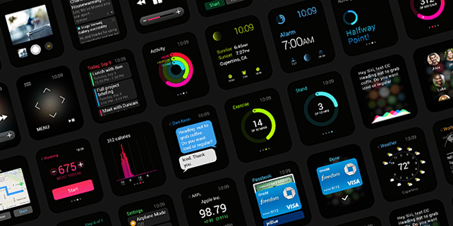 Complete Apple Watch GUI