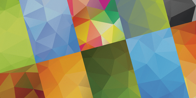 10 high definition geometric backgrounds