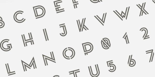 Kanji – vibrant font