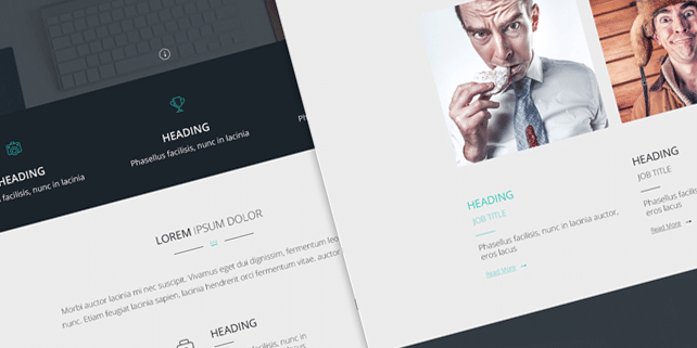 Simplex – fresh and clean site template