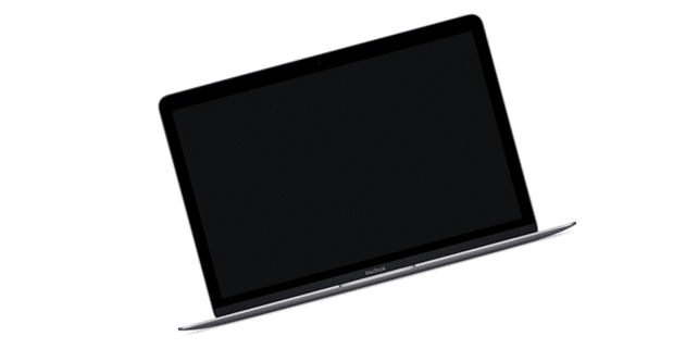 The new MacBook mockup