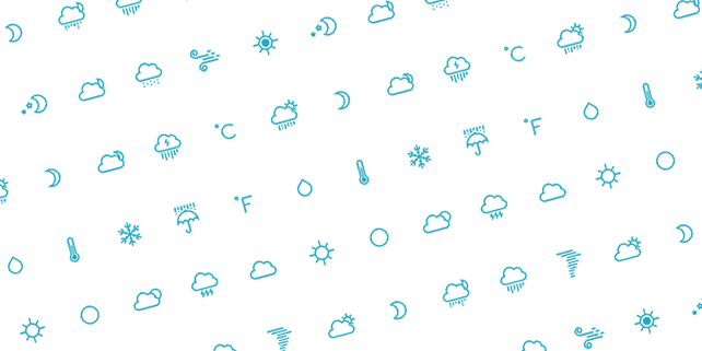 25 beautiful weather icons