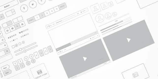 Teracy – wireframe UI kit