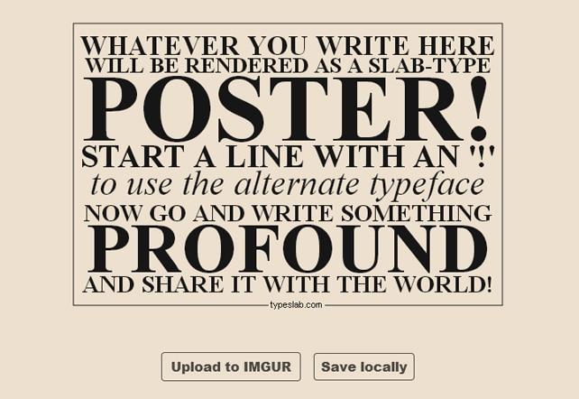 TypeSlab