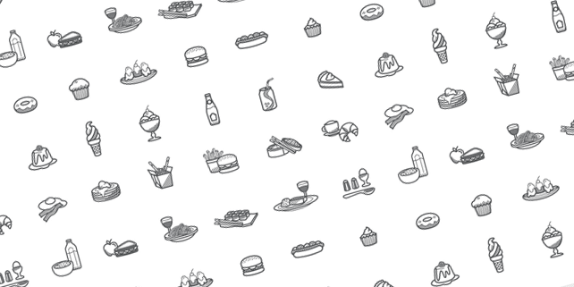 Foody icon set