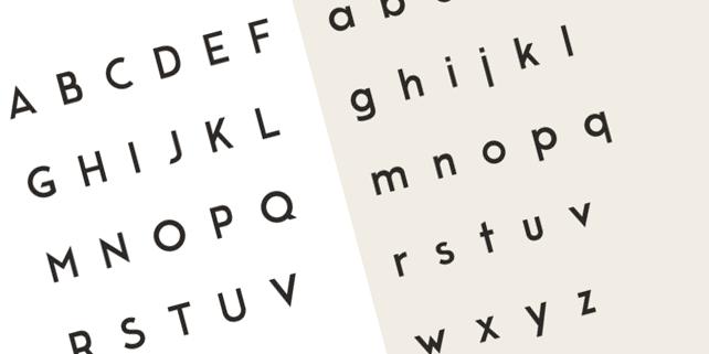 moderne-sans-typeface