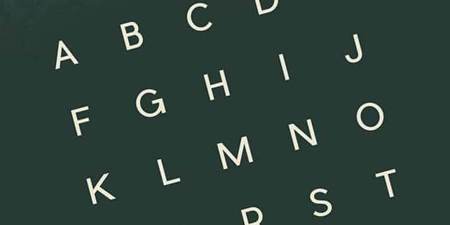 Pier – modern sans serif font
