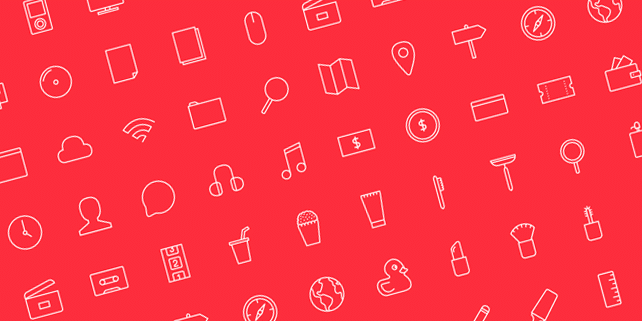 Stripes & Co – outline icon set