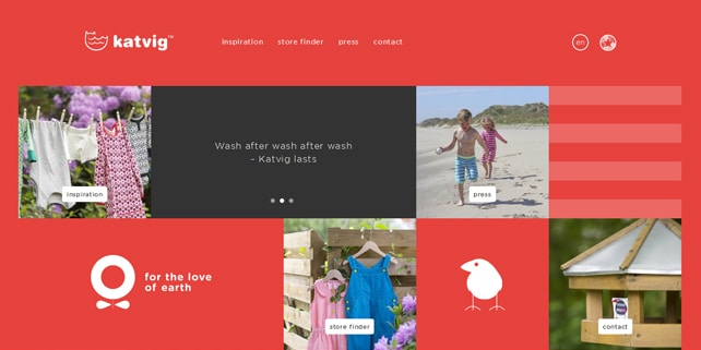 Our favorite web design works of March 2015