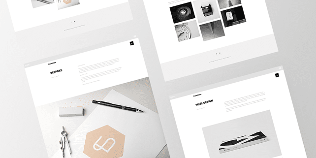 THOMSOON – clean, minimalist HTML5 template