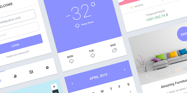 Epic – light, clean UI kit