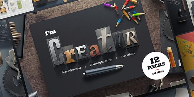 I'm Creator – mockup scene creator