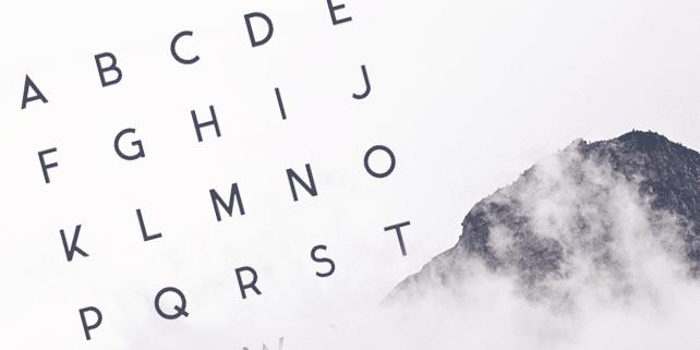 Ikaros – elegant sans serif font