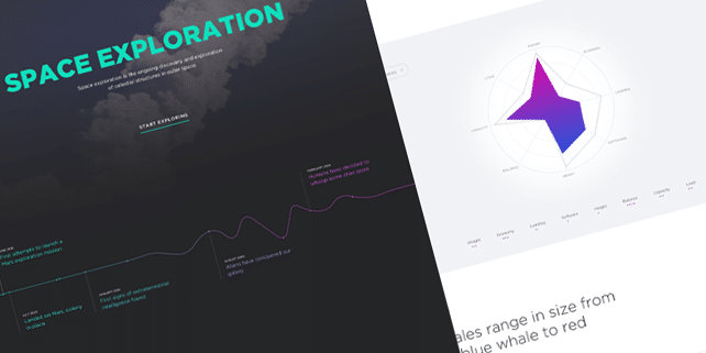 Space exploration – retina ready PSD template