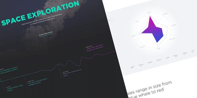 Space exploration – retina ready PSD template