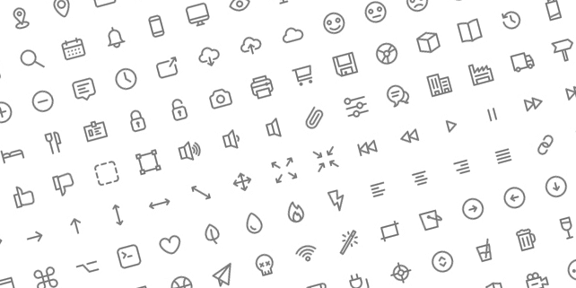 231 well crafted, outline icons