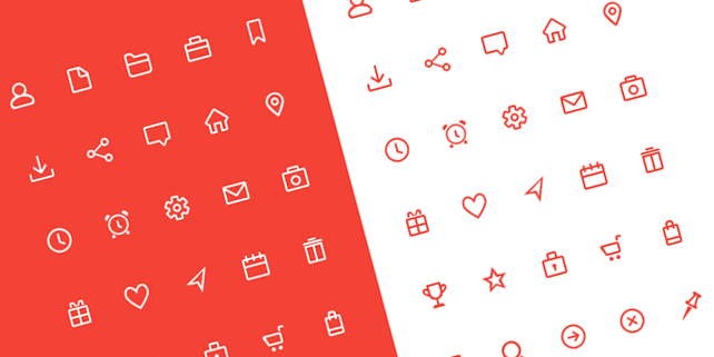 30-simple-beauteful-icons