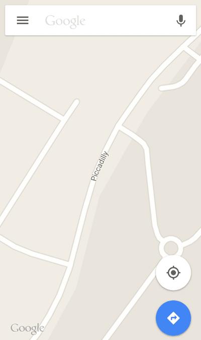 Maps FAB