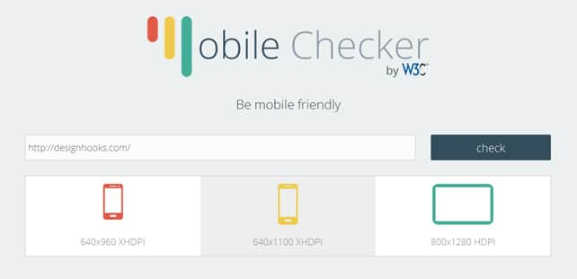 W3C-mobile-checker