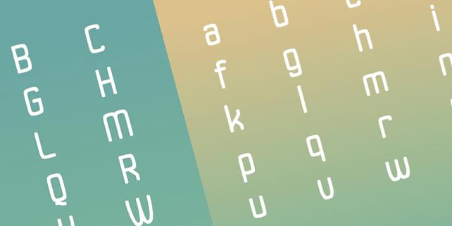 Duster – elegant, rounded typeface