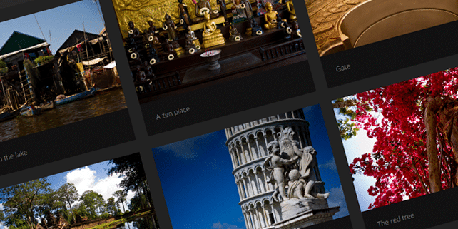 Glimpse – photography Ghost theme