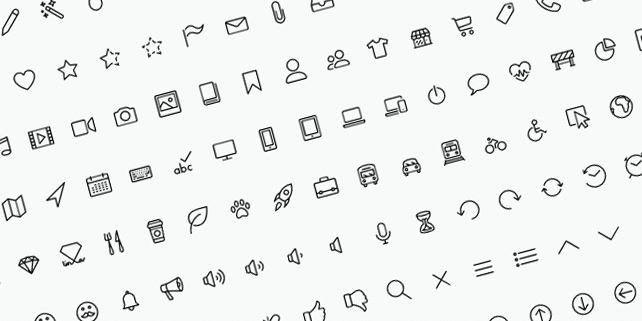 170 beautiful line icons
