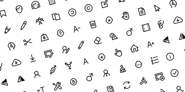 100 Windows 10 SVG icons