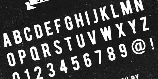 Bernier – free vintage font