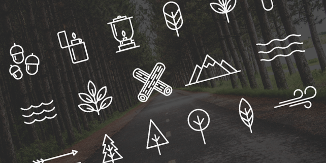camping-vector-icons
