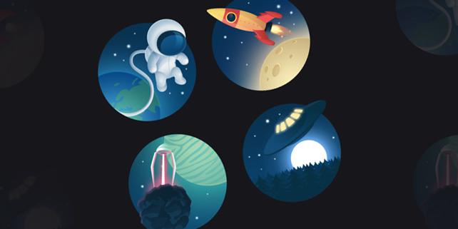 cosmos-free-icon-set