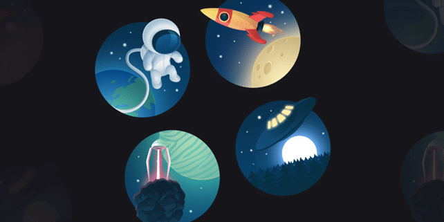 Cosmos icon set #1