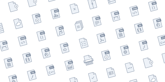 File type icons (30 items)