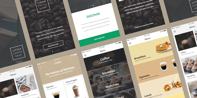 Five – mobile eCommerce UI kit #1