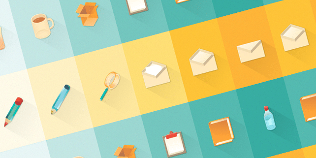 12 material design stationary icons