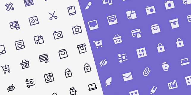 Nucleo icon set (60 items)