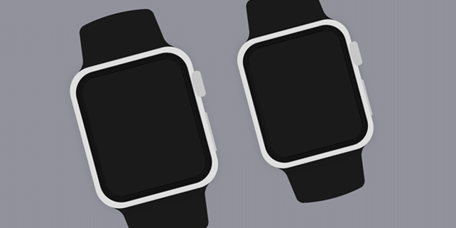 Simple Apple Watch mockup