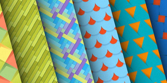 10 fresh material design backgrounds
